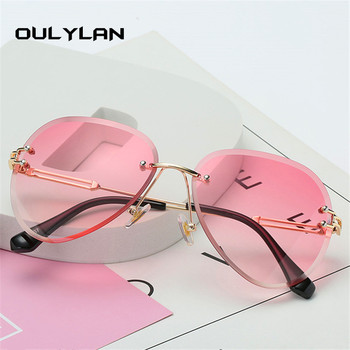Oulylan Rimless Sunglasses  2