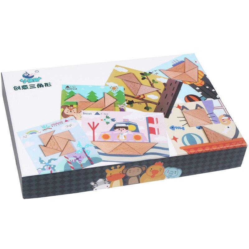 Puzzle en bois jouets pour enfants début jeu éducatif Montessori Oyuncak jouets pour garçons filles 49 - 4