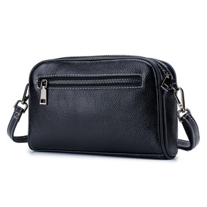Image 3 - Fashion Small Women Shoulder Bags Genuine Leather Womnens Massenger Bags Famous Brand Ladies Bags Mini Causal Crossbody Bags