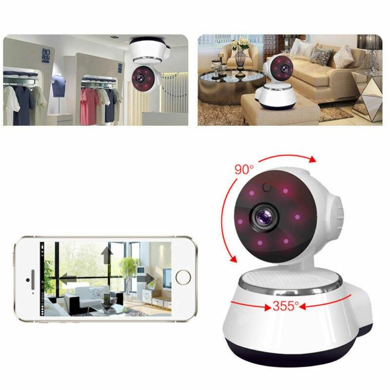 Image 3 - كاميرا مراقبة IP صغيرة تعمل بالواي فاي نظام أمن المنزل الذكي. مع كاميرا مراقبة حيوانات أليفة رضع عالية الدقة 720Pأجهزة مراقبة للرضع   -
