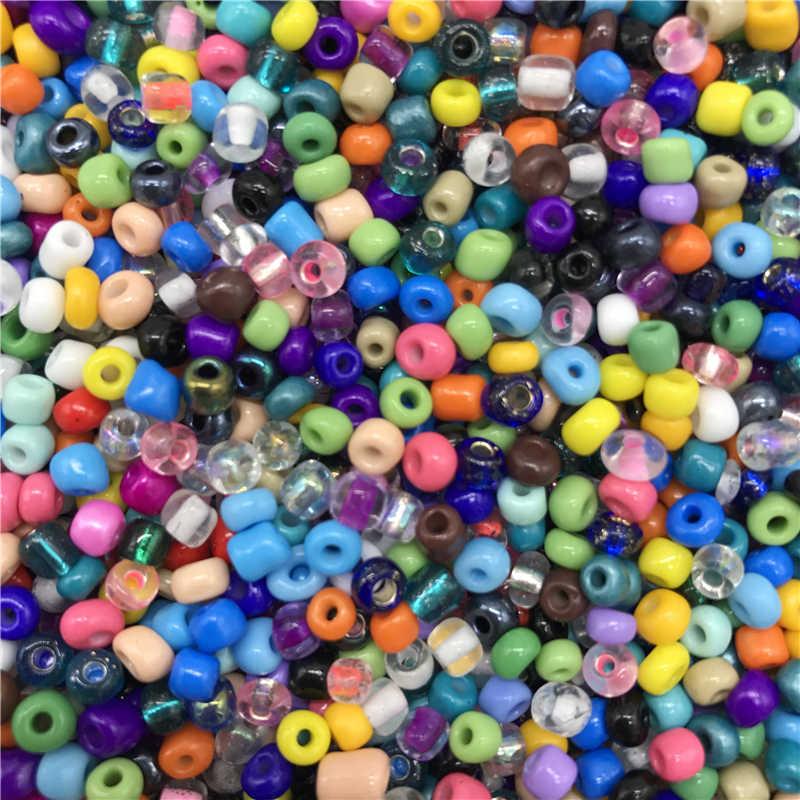 4mm 200 pcs Charm Czech Glass Beads Seed DIY Vòng Tay Vòng Cổ Cho Trang Sức Làm DIY Bông Tai Vòng Cổ Cross Stitch phụ kiện