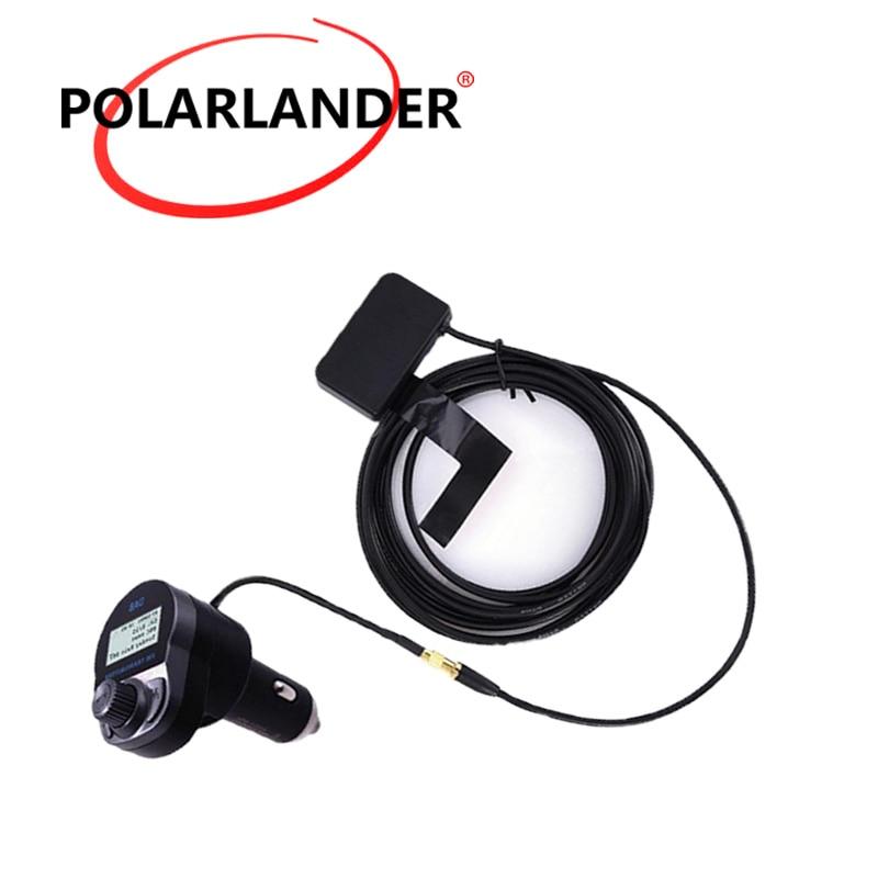 FM transmetteur chargeur USB 5V/2,4a | Adaptateur Audio d'antenne sans fil pour voiture, numérique DAB/DAB + récepteur Radio, Bluetooth, mains libres