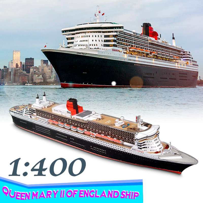 1/400 DIY 3D Paper Model Battleship Paper Battleship Model A4 Queen Mary II Of England Ship Model Kit Assembly Toy