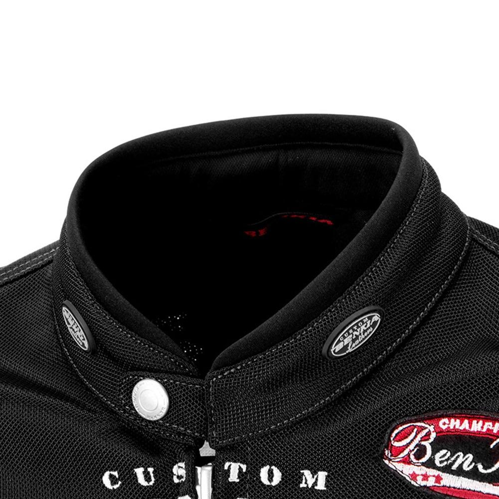 BENKIA JS92 veste de Moto équitation costume de Moto Protection armure corporelle vêtements réfléchissants manteau homme vêtements protecteur hommes vestes - 3