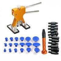 31pcs Auto Car Fixing Tool Kit Repair Stainless Steel Bridge of Cars Paintless Dent Repair Tools Kit Suit of Auto