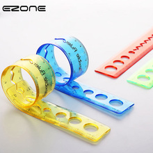 EZONE Soft Ruler Creative Students Measurement Curling Folder Straight 20/30cm Stationery Supply New Brand