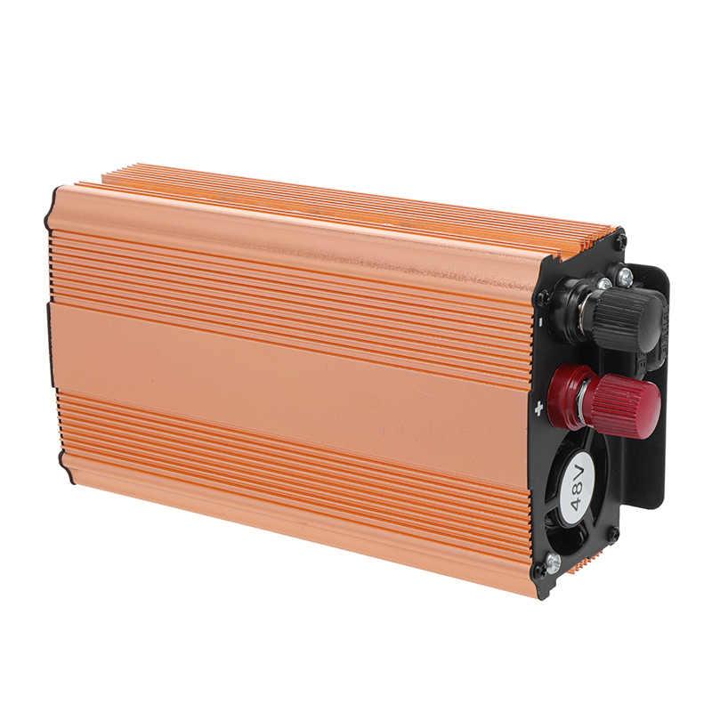 Inversor de corriente 3000 W DC 12/24/28 V a CA 220 V convertidor potencia de onda sinusoidal pura inversores profesionales de polaridad inversa inversor