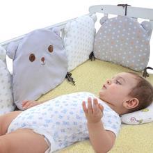 6 шт./компл. для детской кроватки протектор Мультфильм постельный принадлежности подушки одежда для малышей защита для кроватки детские кроватки бамперы Подушечка для ребенка спать ночью