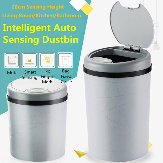 11L/13L Automatico Pattumiera Del Sensore Smart Sensor Trash Can Induzione Bidon