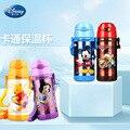 Disney Carino Conservazione di Calore della Tazza Del Fumetto 2019 del Nuovo Portatile di Modo Per Bambini In Acciaio Inox Ventosa Acqua Bollitore Con Tazza di Acqua