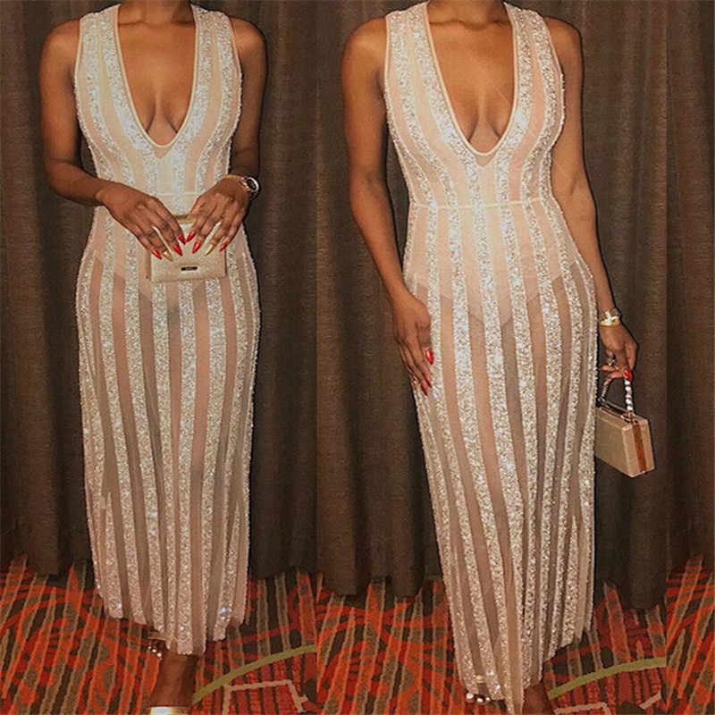 Długie suknie balowe 2019 Sexy Backless złota w paski suknia wieczorowa formalna głębokie V szyi sukienka kobiety sukienki na wyjątkowe okazje Robe De Soiree