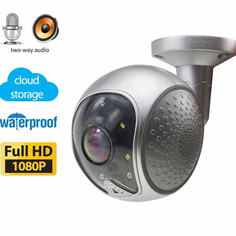 Cloud Storage 1080 P 2 Way Audio 120 Gradi Ampio Angolo di Visione Notturna di IR IP65 Impermeabile Della Pallottola Senza Fili del IP di Wifi camera Onvif P2PCloud Storage 1080 P 2 Way Audio 120 Gradi Ampio Angolo di Visione Notturna di IR IP65 Impermeabile Della Pallottola Senza Fili del IP di Wifi camera Onvif P2P