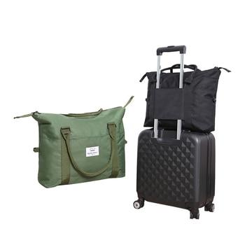 76f289cc9 Bolso de viaje para hombre, bolso de viaje de gran capacidad para mujer, bolsas  de viaje, bolso de viaje para hombre, organizador con bolsillo para zapatos