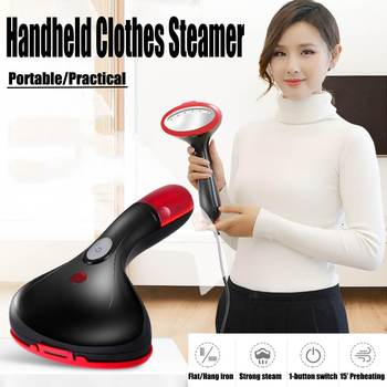1500w handheld portable clothes steamer and fabric steam heat iron for ironing clothes