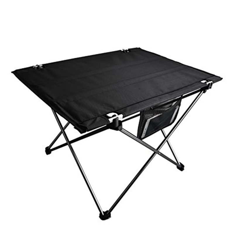 Portable Folding Barbecue Desk Lightweight Aluminium Alloy Oxford Cloth Picnic Table For Outdoor Camping Table With Storage Bag