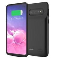 5000mAh für Samsung S10 Plus Batterie Ladegerät Fall Externe Backup Power Bank Ladegerät für Galaxy S10e S10 Batterie Fall 4700mAh-in Ladegerät-Gehäuse aus Handys & Telekommunikation bei