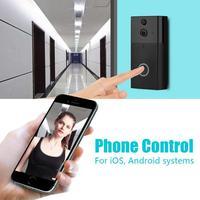 720P WIFI Visual Doorbell Wireless Intercom Doorbell PIR Motion Detection IR Night Vision Noise Cancelling Smart Doorbell New