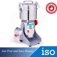 2500W Portable Grinder Herb Flood Flour Pulverizer 110V/220V Multifunction Swing Powder Machine Good Kitchen Helper