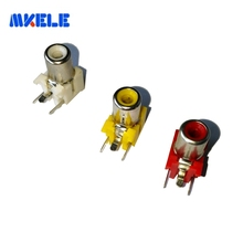 ROHS high quality one pin rca jack connector RCA-103P