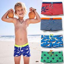 Летний Пляжный Купальник для маленьких мальчиков, Шорты для плавания