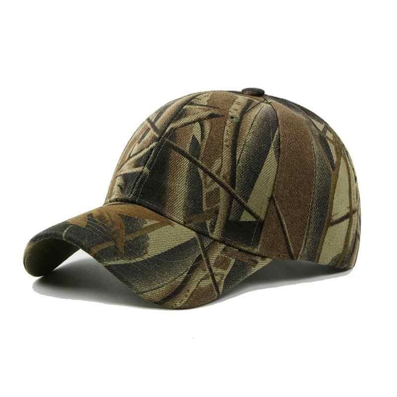 Nouveau mode réglable unisexe armée Camouflage Camo Casquette chapeau Casquette Casquette de Baseball hommes femmes décontracté désert chapeau # H1020
