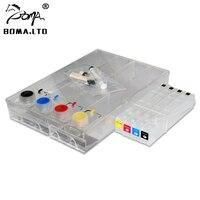 Бома. LTD 4 цвета система СНПЧ для HP 970 971 970xl 971xl для HP Officejet Pro x451dn x551dw x476dn x576dw СНПЧ принтер