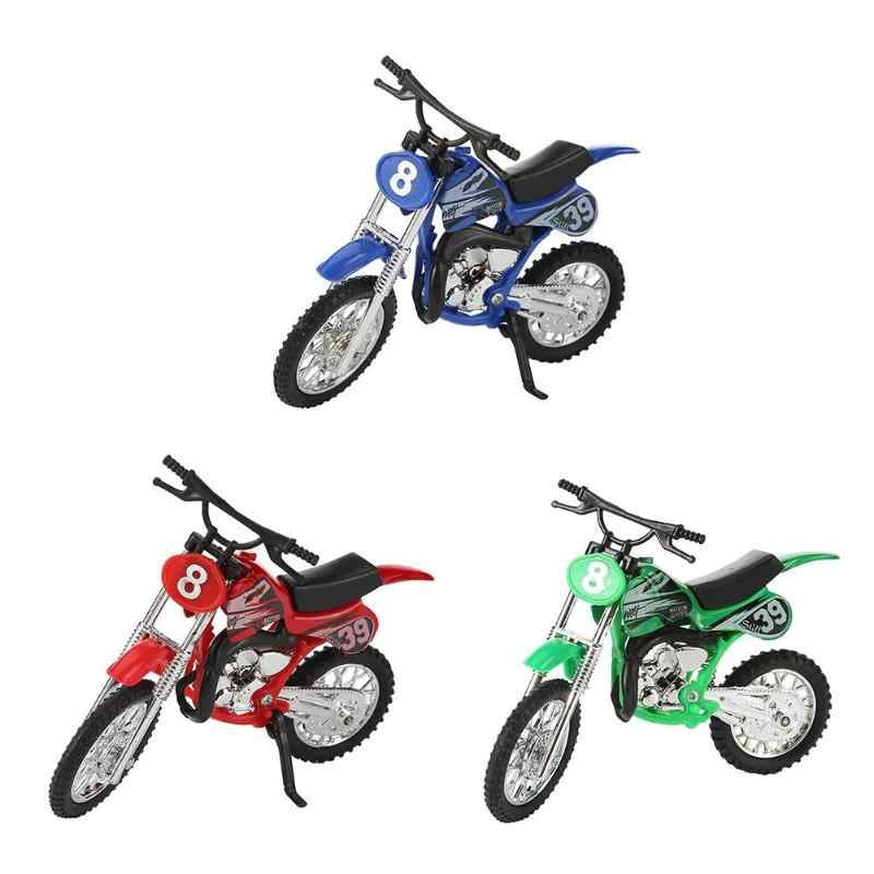 Model Motorcycle Toy Kids Toys Motorbike Motor Cycle Alloy Children Glide Simulation Diecast Kids Vehicles Collection Ornaments