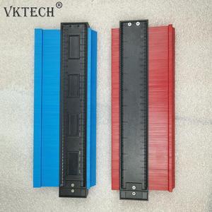 Image 5 - Plastic Irregular Shaper Profile Ruler Gauge Duplicator Contour Scale Template Curvature Scale Tiling Laminate General Tools