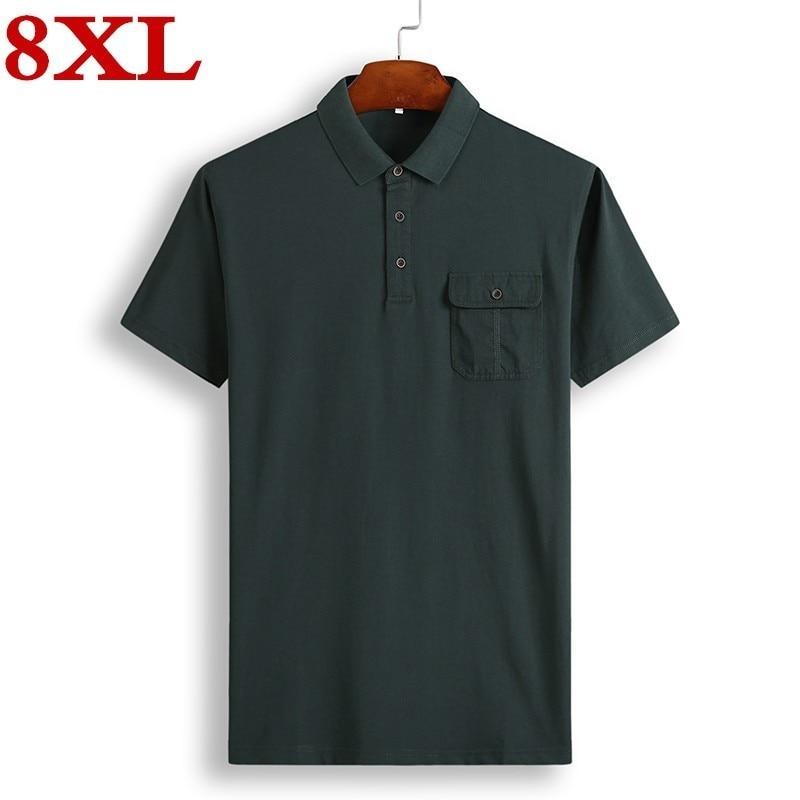 Vska Men Silm Short-Sleeve Drape Up Top Tees Polo