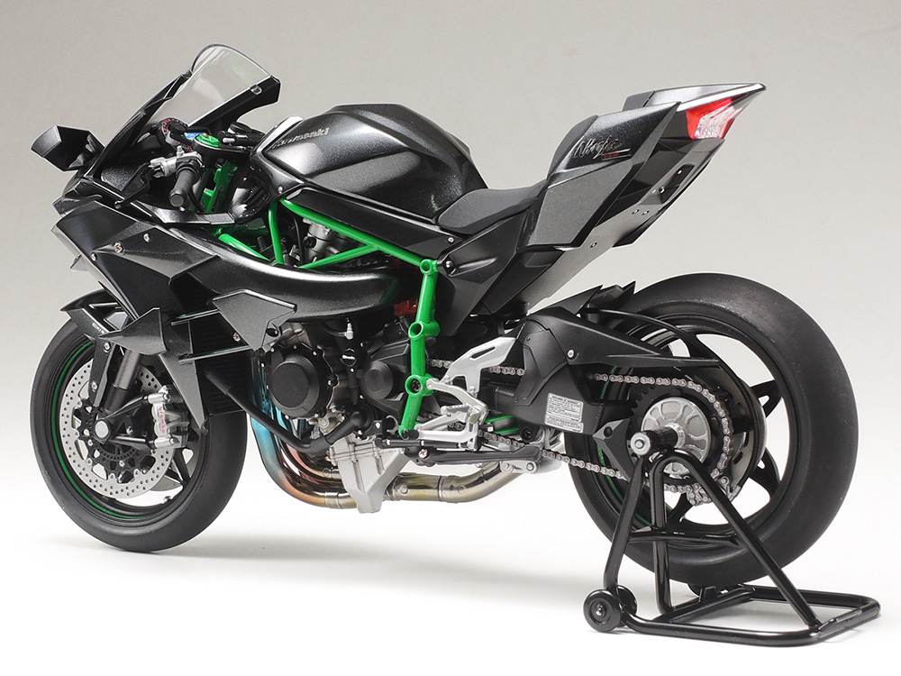 Tamiya Plastic Assembly Model 1:12 Kawasaki Ninja H2R Motorcycle Kit Toy Collection Gift Free Shipping