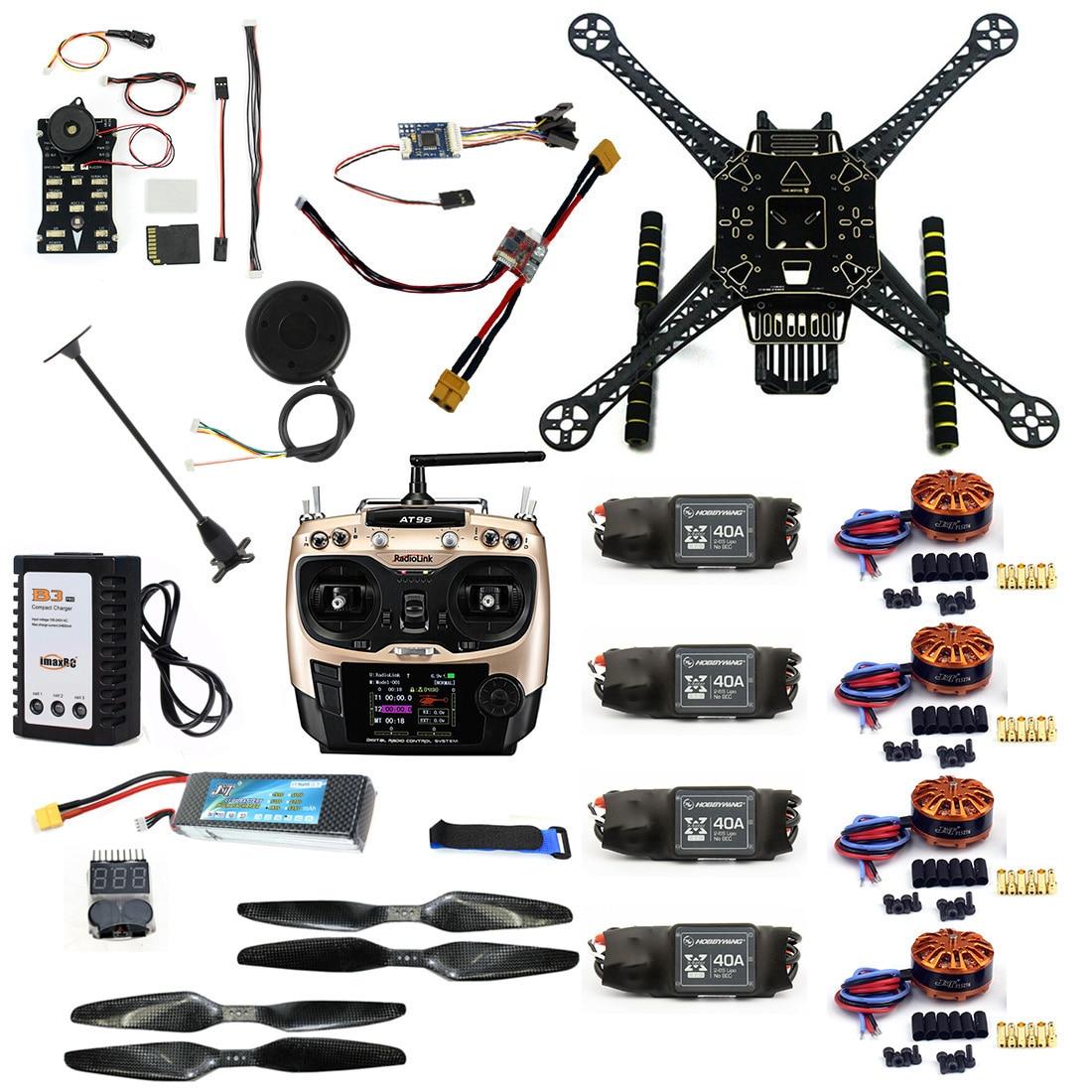 Genossenschaft F19457-c Diy Rc Drone Full Kit S600 Rahmen Pix 2.4.8 Flight Control 40a Esc 700kv Motor At9s Tx Mit Batterie Ladegerät Xt60 Stecker Duftendes In Aroma