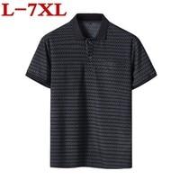 2019 high quality plus size 7XL 6XL 5XL men Designer T Shirt Casual Quick Dry Slim Fit Shirts Tops & Tees