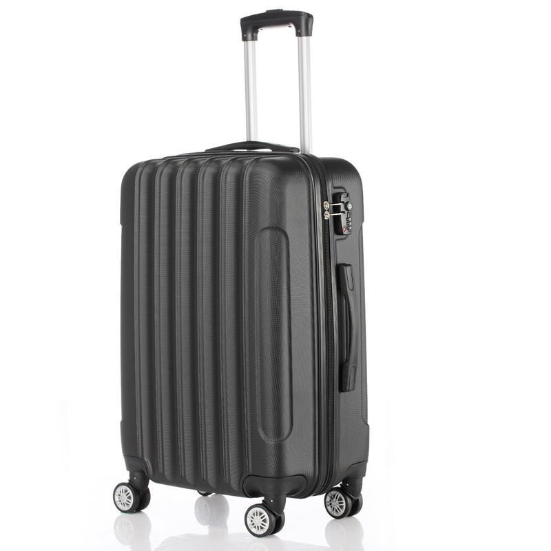 3-in-1 Multifunctional Large Capacity Traveling Suitcase Dirt-resistant High Toughness Luggage Box Black Easy To Clean3-in-1 Multifunctional Large Capacity Traveling Suitcase Dirt-resistant High Toughness Luggage Box Black Easy To Clean