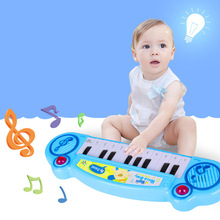 Baby Mini Musical Carpet Keyboard Playmat Music Play Mat Piano Early Learning Educational Toys for Children Kids Puzzle Toy J11 цена и фото