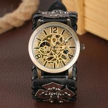 cuir montre remontage de