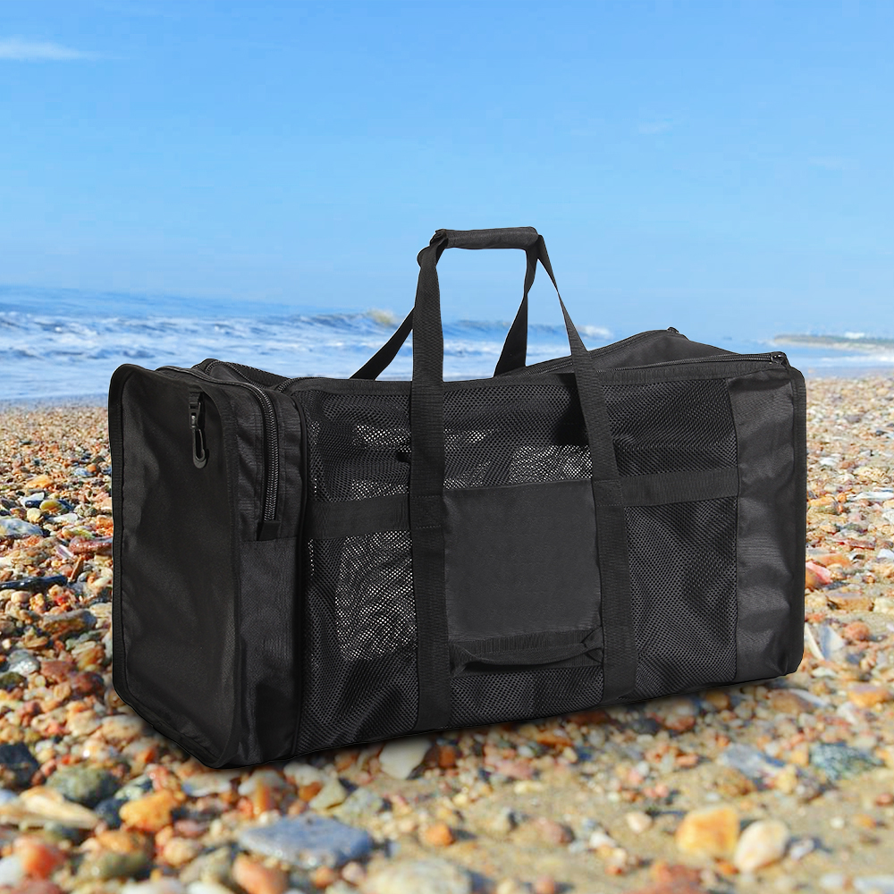 88bf04f3a6 Detail Feedback Questions about 100 Travel Pouch Ultralight Mesh Gear Bag  Swimming Drifting Storage Pack For Scuba Diving Snorkeling Swimming Sports  ...
