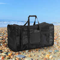 100 Travel Pouch Ultralight Mesh Gear Bag Swimming Drifting Storage Pack For Scuba Diving Snorkeling Swimming Sports Equipment