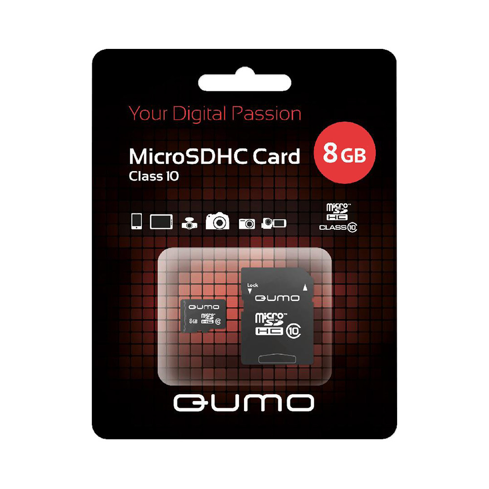 Memory Cards QUMO 17608 Computer & Office Internal Storage Memory Cards