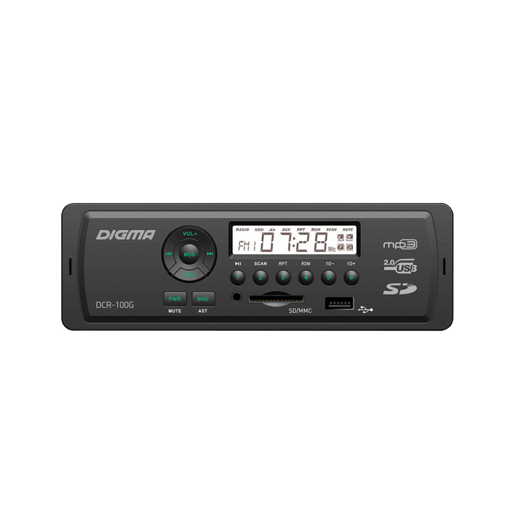 Car Radios Digma DCR-100G Automobiles & Motorcycles Car Electronics Car Radios car radios digma dcr 390g automobiles