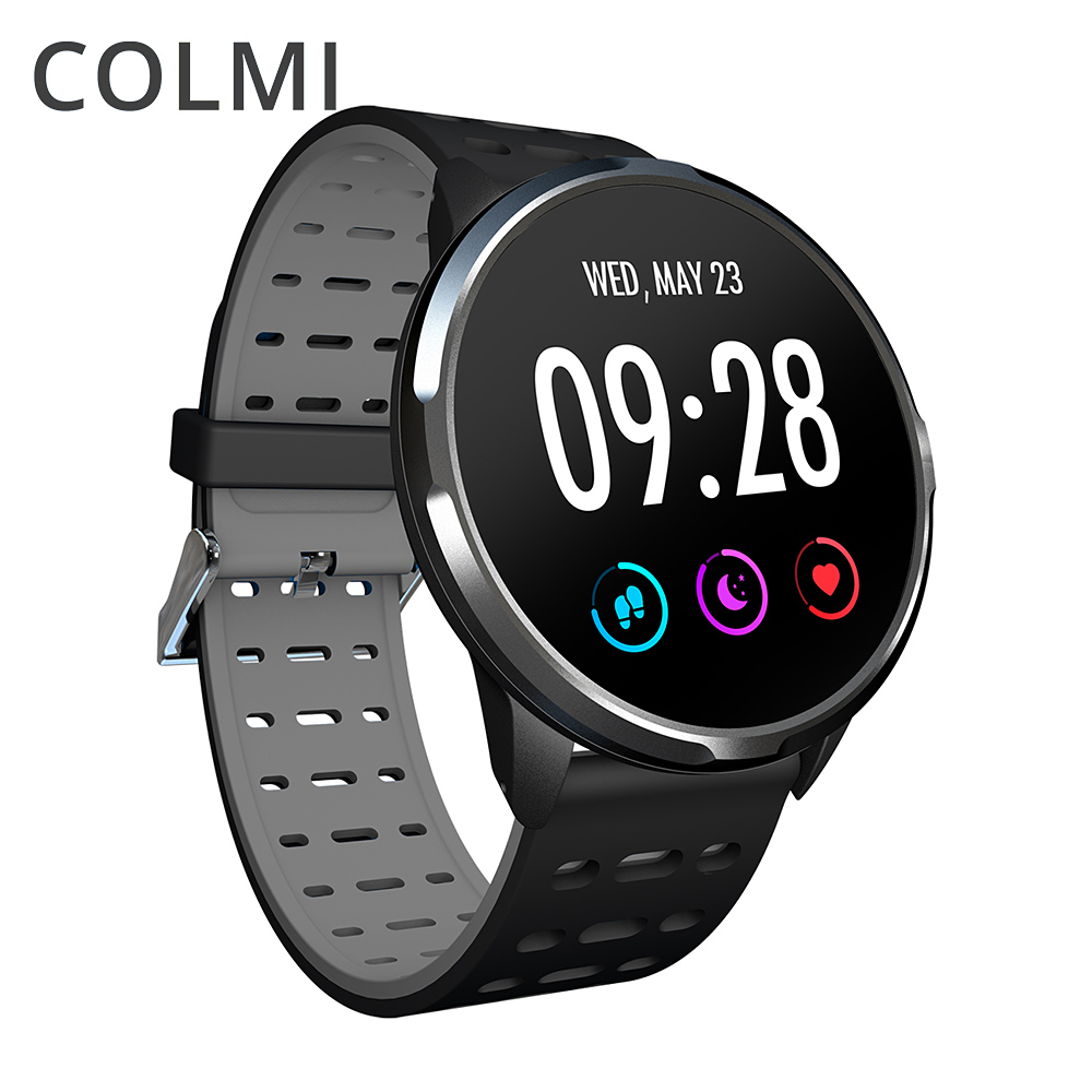 COLMI Smart watch IP68 waterproof Standby 30 days Heart rate monitor clock Activity tracker Men Women Smartwatch-in Smart Watches from Consumer Electronics    1