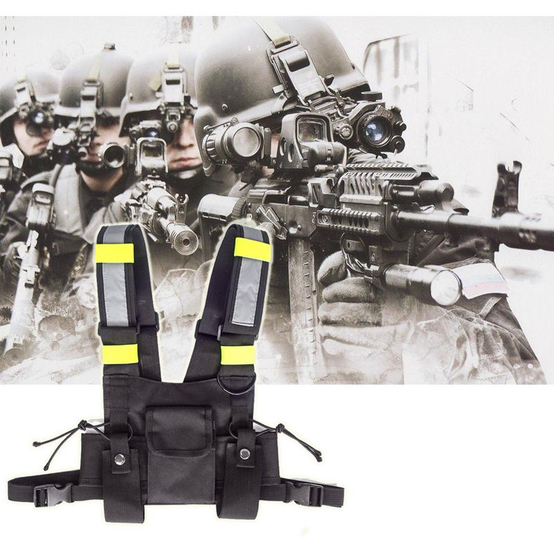 Outdoor Tactical Military Vest Wireless Caller Two Way Radio Army Jacket Bright Green Radio Chest Harness Chest Protect GearOutdoor Tactical Military Vest Wireless Caller Two Way Radio Army Jacket Bright Green Radio Chest Harness Chest Protect Gear