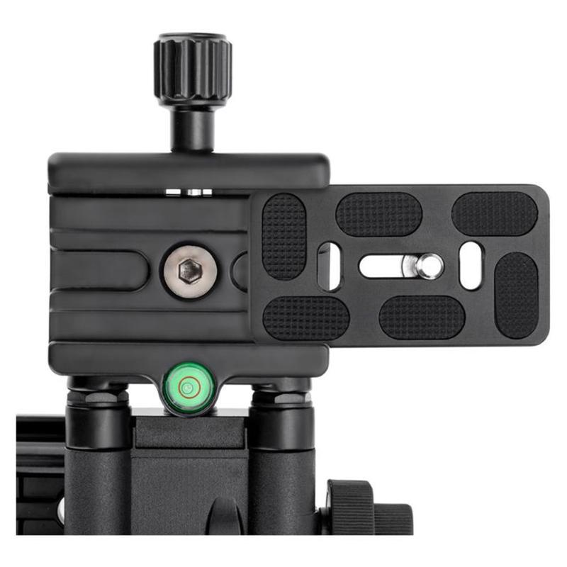 MFR4-5 léger 4 voies Macro mise au point Rail curseur avec pince de fixation rapide 1/4 vis pour Canon Sony Pentax Nikon DSLR appareil photo - 3