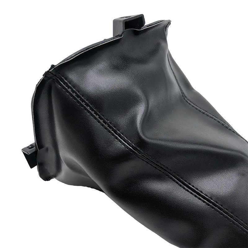 5 Speed Pu Lederen Pookknop Lever Stick Kragen Stof Cover Case Protector Voor Great Wall Hover H3 H5 2010 2011 2012 2013