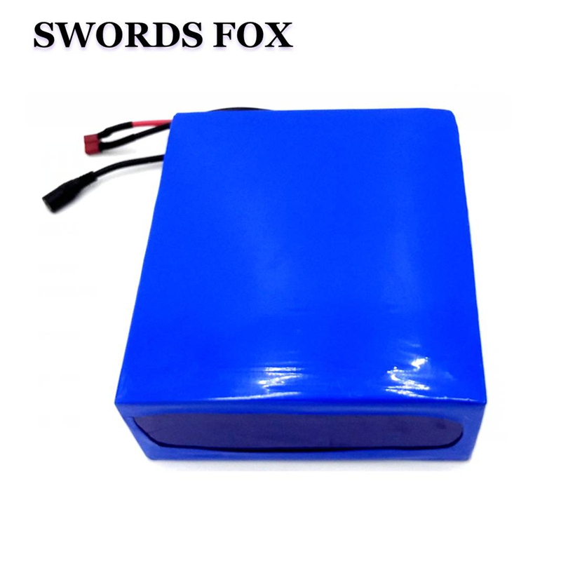 SWORDS FOX 48V 25AH electric bike battery for 2000W motor Built in 50A BMS Electric Bicycle