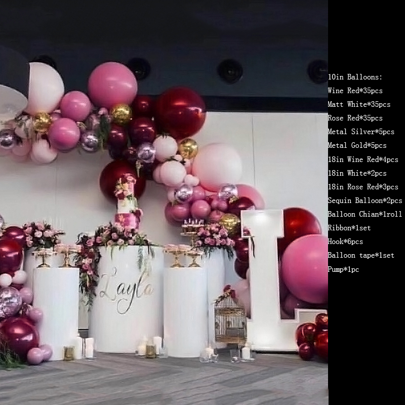 6 rolls//set Balloon Golden Silver Ribbon Rolls For Wedding Birthday Party Decor