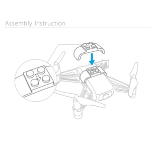 Image 5 - Quick Installing Drone Adapter For Lego Toys Rc Quadcopter Accessories For Tello Universal Interface For Lego Toys