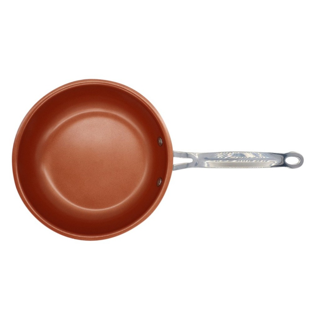 Frying-Pan Oven Dishwasher-Safe Non-Stick Cooking Induction Ceramic-Coating Copper S29weettreats