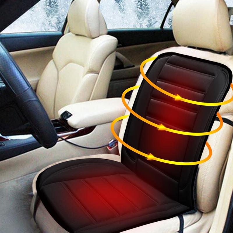 RU Stock 12 V invierno calefacción del coche cojines del asiento eléctrico termostato solo asiento de seguridad decoración suministros