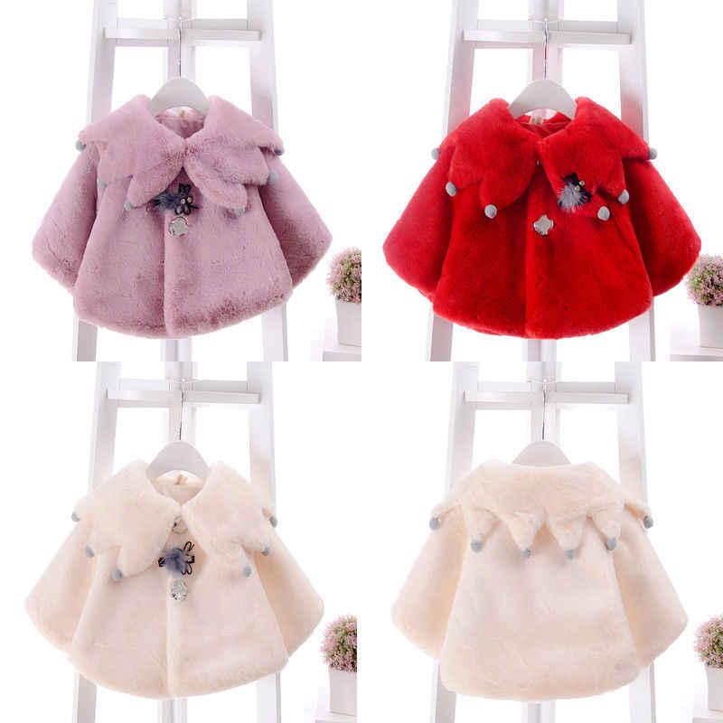3af96b460100 Detail Feedback Questions about Baby Girl Winter Warm Fur Fleece ...