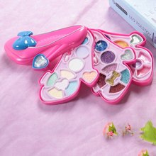 High Heels Shape Makeup Box Children Cosmetic Toys Kids Pretend Play Toys for party or daily fun activities Best Gifts for child(China)